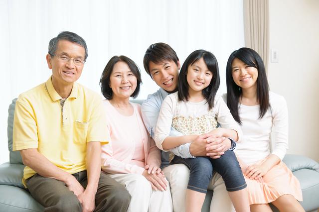 3世帯家族